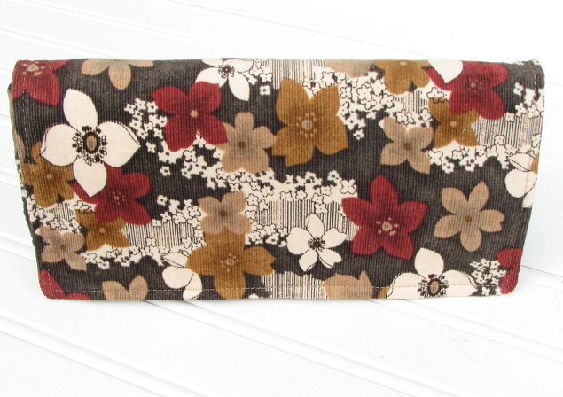 Fall Floral Clutch