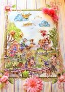 Loralie Harris Fabric Panel Wallhanging