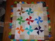 Charmed Pinwheel Mini-quilt