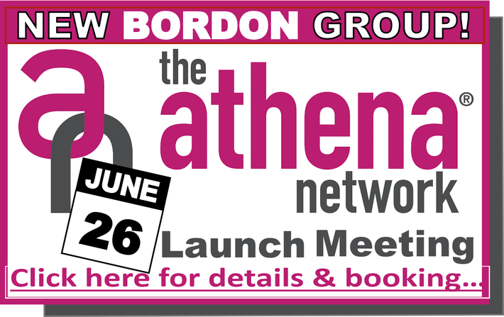 Become a founder member of the Athena Network's new BORDON group, launching on 26th June. Build your network in a supportive, encouraging and fun community of women, with monthly meetings, on-going training and special events