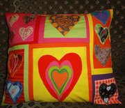 Hearts Pillow 2