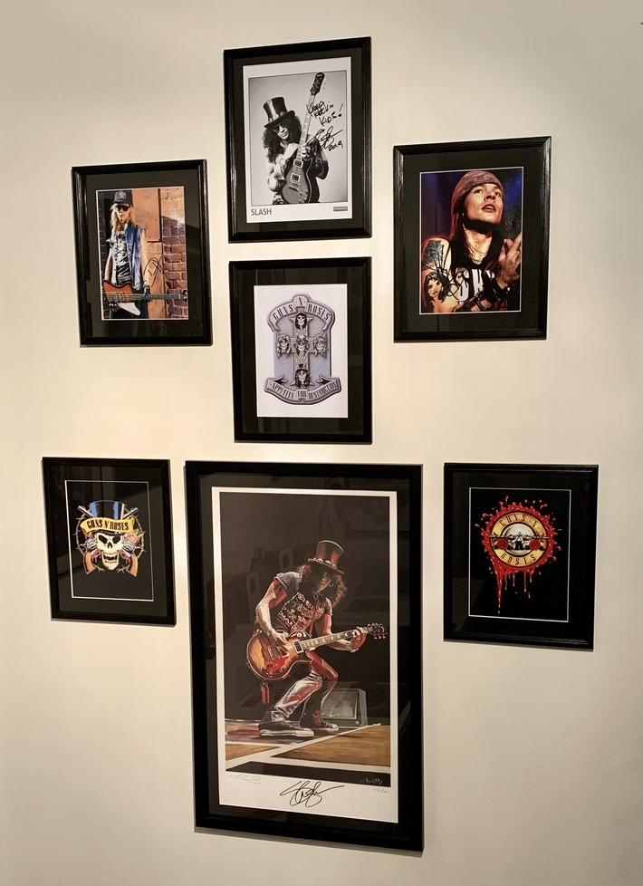My Guns N Roses wall (updated)