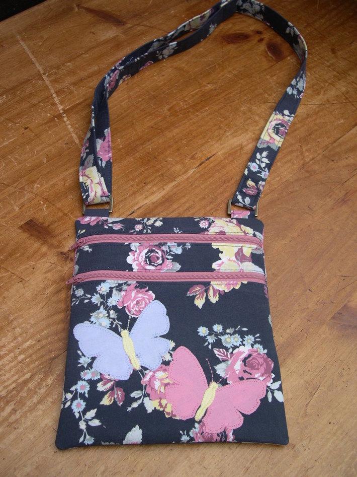 Zip and Go Bag - Butterflies