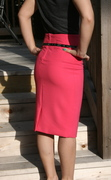 Pink Happy Thoughts Skirt
