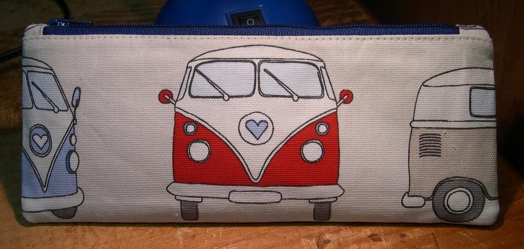 Campervan Pencil Case - front