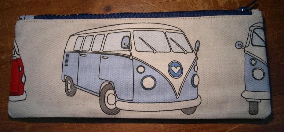 Campervan Pencil Case - back