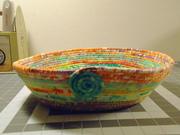 Batik Fabric Bowl + Video Tutorials