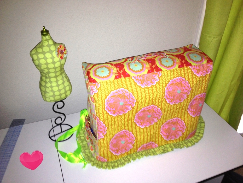 pin cushion and machine cover