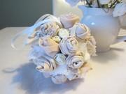Cream rose ball