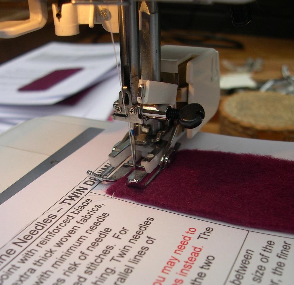 Sewing Machine Needle Organiser Tutorial