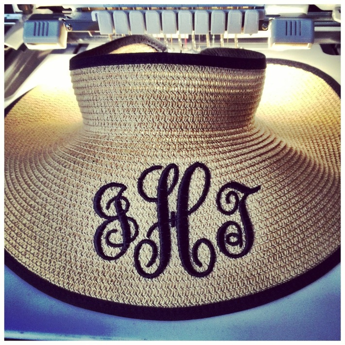 Embroidered Sun Hat