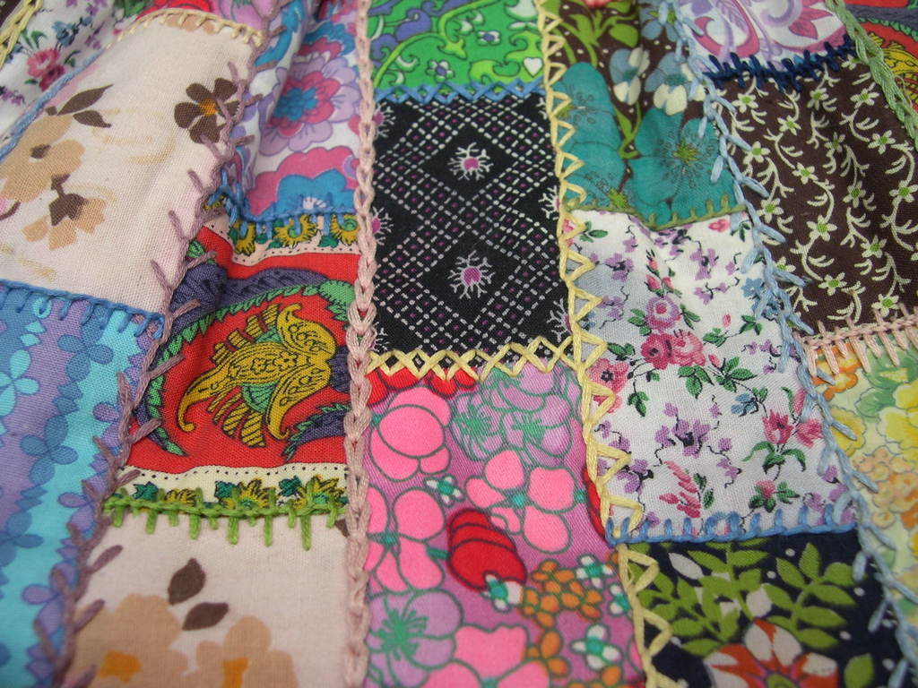 Making my patchwork bag