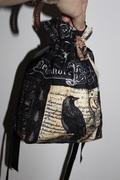 Nevermore Drawstring Bag
