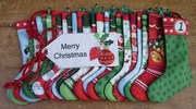 Mini Stocking Advent Calendar (Makower UK) - finished