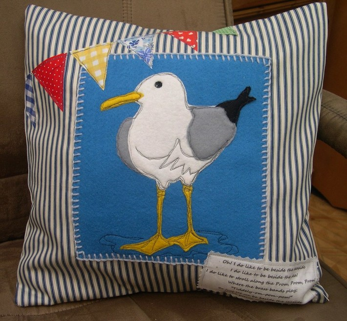 My Seagull Cushion