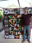 Music Note Quilt