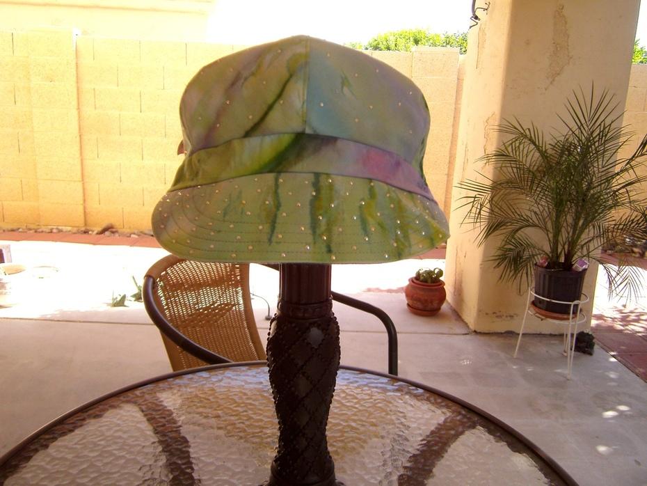 Reversible Bling Cap 1 green side
