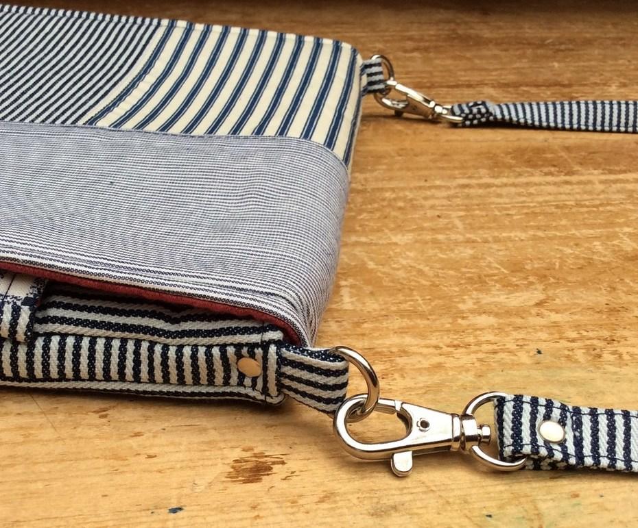 Evelyn Tablet Bag (ithinksew.com) Strap