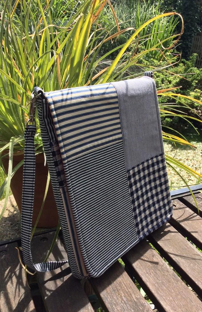 Evelyn Tablet Bag - Side View