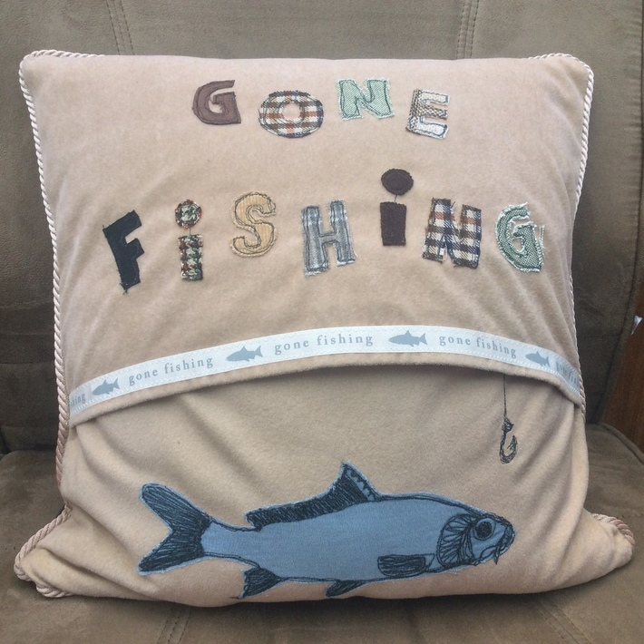 Back of the Angler's Cushion