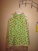 Girls Ladybug Pillowcase Dress