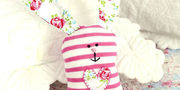 Upcycle an Odd Sock and Sew a Sweetheart Sock Bunny