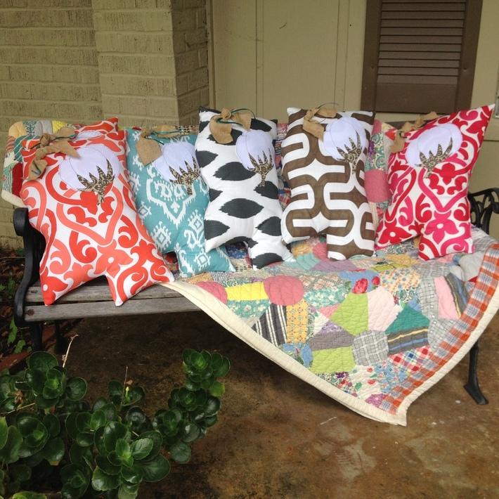 Mississippi pillows
