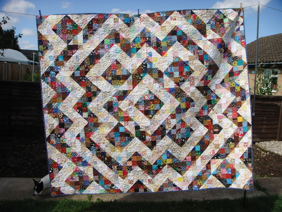 Quilt on the Clothesline