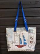 Totes Ma Tote - A Nautical Beach Bag Project