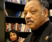 Jesse Jackson at the King Institute on February 17, 2017