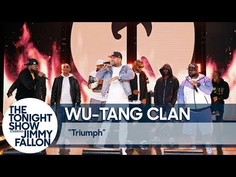 "Wu-Tang Clan & YDB Perform ""Triumph"" On ""The Tonight Show With Jimmy Fallon"""