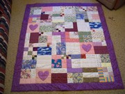 comfort of psalms quilt