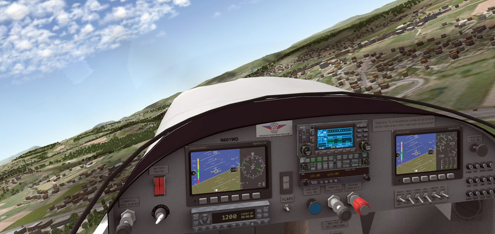 Updated X-Plane Flight Simulator Files for Zenith Aircraft