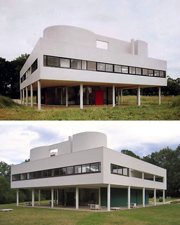 Le Corbusier's Villa Savoye at Poissy
