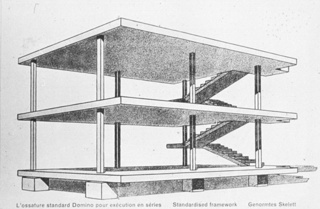Le Corbusier's domino housing project