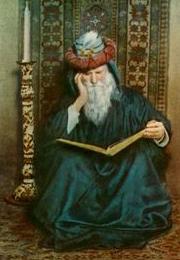 Omar Khayyam portrait
