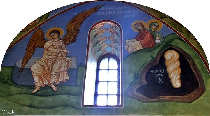 Qwelly, blog, easter, ანგელოზი, აღდგომა, აღდგომის მიწისძვრა, აღდგომის სიხარული, ბლოგი, მილოცვა, მორწმუნე, რწმენა, სარწმუნოება, ურწმუნო, ქველი, ქრისტიანობა