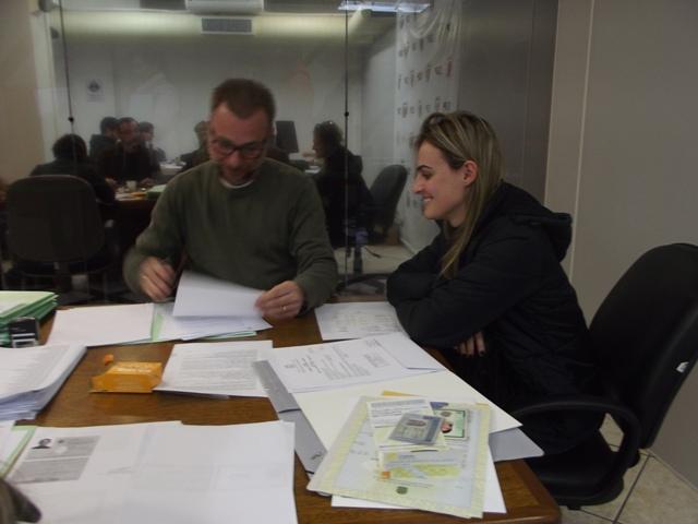 Aprovados em concurso da PCSC começam a entregar os documentos para início do curso de formação