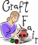 Craft fair at Stroud Green Library