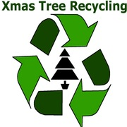 Christmas Tree Recycling at The Community Garden