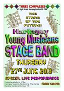 The Haringey Young Musicians Stage Band Special Music Performance