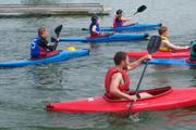 Canoe Polo Tournament at castle Canoe Club, West Reservoir Green Lanes