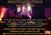 LIVE JAZZ - Smooth Jazz Lounge - every Wednesday at Bernie Grant Arts Centre, Tottenham