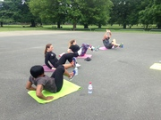 Free fitness classes in the park