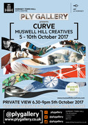 Muswell Hill Creatives 'CURVE' exhibition
