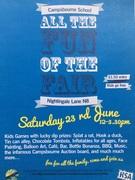 Campsbourne School Summer Fair 12-3.30pm