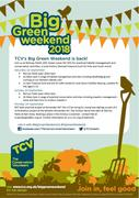 TCV Big Green Weekend: Saxon Treasure Hunt for Kids at Railway Fields