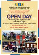 Crouch End and District U3A Open Day