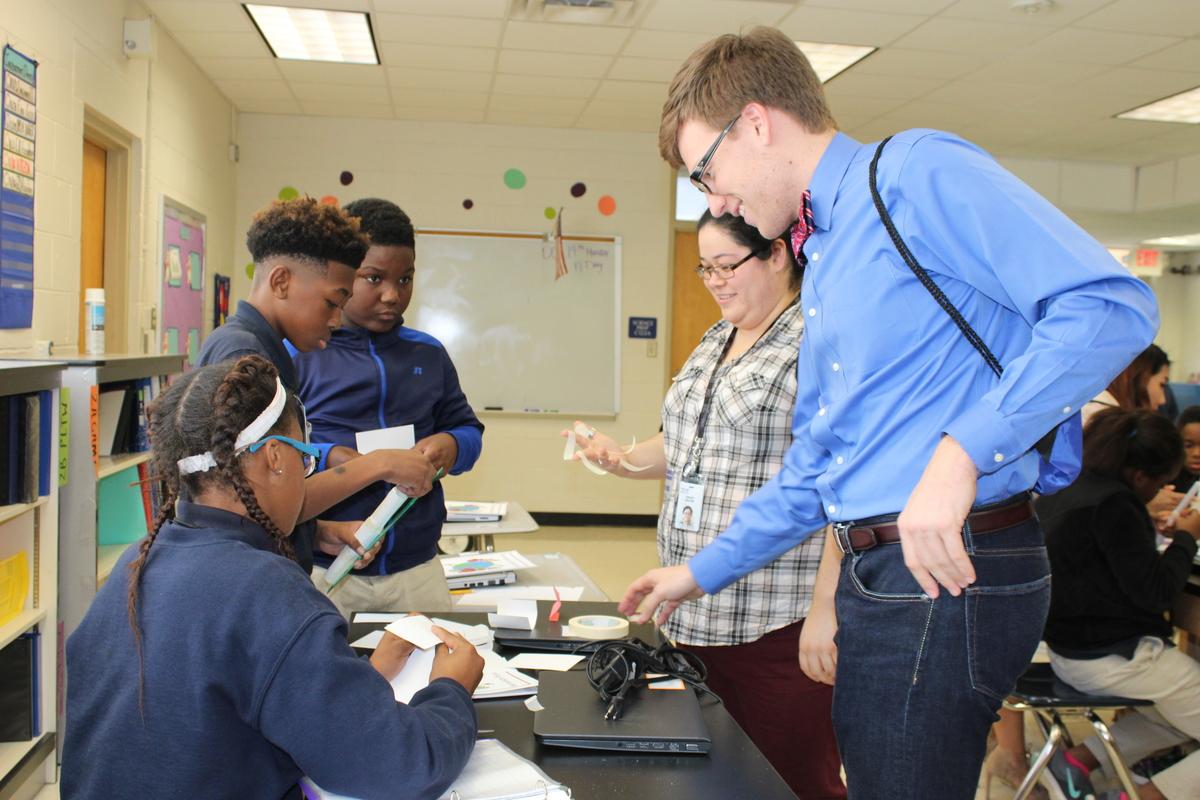 IBM Begins STEM Mentoring Project at Scotlandville Middle