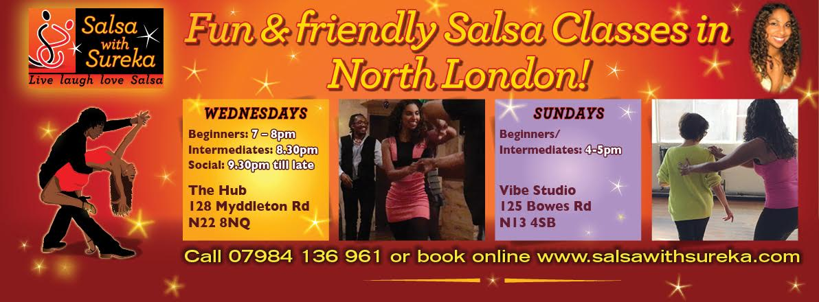 BEGINNERS AND INTERMEDIATES 6 & 12 week SALSA COURSES!